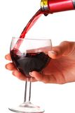 Pouring wine Stock Photos