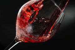 Pouring wine Royalty Free Stock Photos