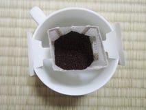 Pourover kaffe Arkivbilder