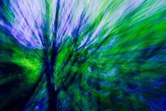 Pourpré abstrait, vert, bleu Photographie stock libre de droits