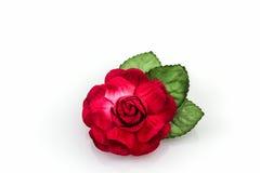 Pourpre artificiel des fleurs faites à partir du papier Photos libres de droits