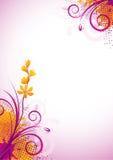 pourpre de fleur Images libres de droits