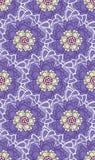 Pourpre, jaune et crème d'espoir de ressort floraux illustration stock
