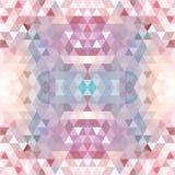 Pourpre triangulaire BackgroundÂŒ de mosaïque illustration stock