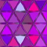 Pourpre voyant et fond au néon de triangles de couleurs de grenadine illustration libre de droits