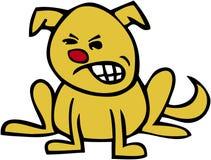 Julim appel? par chien Images stock