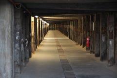 Poursuivez le tunnel de jambe en île de cacatoès, Sydney Photo stock