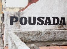 Pousada, Brasile fotografie stock libere da diritti