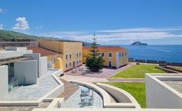 Pousada de Angra do Heroismo Sao Sebastiao Hotel, Terceira island, Azores Stock Photo