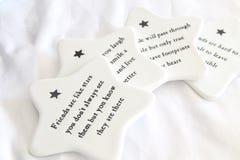 Pousas-copos de Ceremic Imagem de Stock Royalty Free