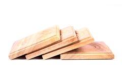 Pousas-copos de madeira Fotografia de Stock Royalty Free