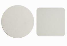 Pousas-copos de papel novas Imagens de Stock