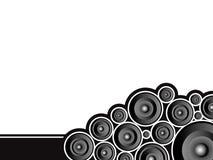 Poussé de haut-parleur Image libre de droits