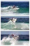 Poussée Surfsho de Kelly Slater Bondi Photographie stock libre de droits
