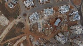Pousse aérienne de beaucoup de bâtiment clips vidéos