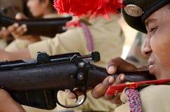 Pousse de fusil Images stock