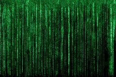 Pousse de Matrix Background Photo stock