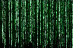 Pousse de Matrix Background Photographie stock