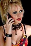Pousse de modèle de la jeune femme 80s Images stock