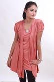 Pousse de mode avec le modèle femelle Image libre de droits