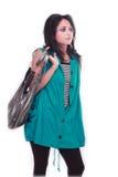 Pousse de mode avec le modèle femelle Photos libres de droits