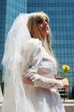 Pousse de photo nuptiale Photographie stock libre de droits