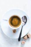 Pousse forte de café photographie stock
