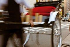 Pousse-pousse à Kyoto, Japon Photographie stock