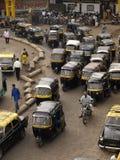 Pousse-pousse dans Mumbai Image libre de droits
