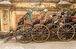 Pousse-pousse de chariot Photos libres de droits