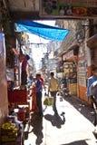Pousse-pousse de cycle dans les rues Photo libre de droits