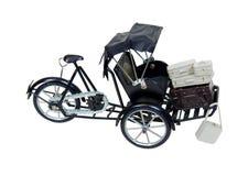 Pousse-pousse et bagage Photo libre de droits