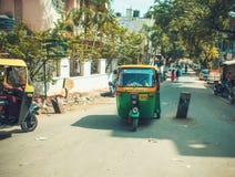 Pousse-pousse indien Image libre de droits