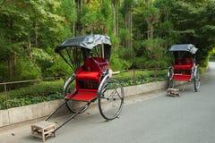 Pousse-pousse japonais à Kyoto Photo libre de droits