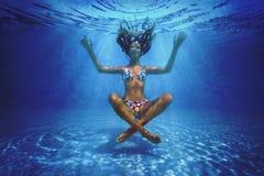 Pousse sous-marine photos libres de droits
