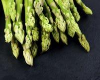 Pousses fraîches d'asperge Photographie stock libre de droits