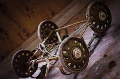 Poussette abandonnée Photographie stock libre de droits