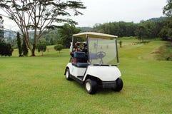 Poussette de golf photo stock