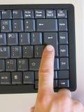 Poussez le bouton Images stock