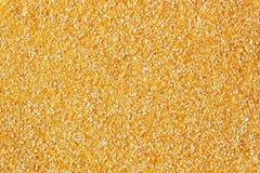 Poussières abrasives de maïs Plan rapproché Images stock