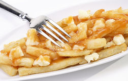 Poutine Royalty Free Stock Images
