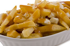 Poutine Royalty Free Stock Photos