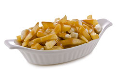 Poutine Royalty Free Stock Photo