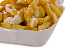 Poutine Royalty Free Stock Image
