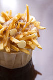 Poutine cupcake Stock Photography