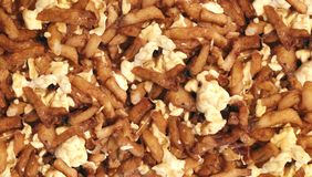 Poutine Fries Canadian Food Background royalty free stock image