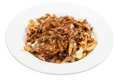 Poutine stock images