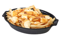 poutine quebec meal Stock Photos