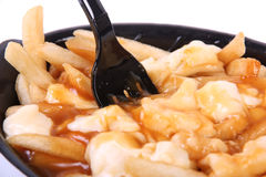 Poutine quebec meal Royalty Free Stock Photography