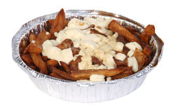 Poutine (quebec meal) Stock Images